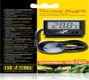 Neon Gecko Exotic Pets Glasgow - Digital Thermo-Hygrometer